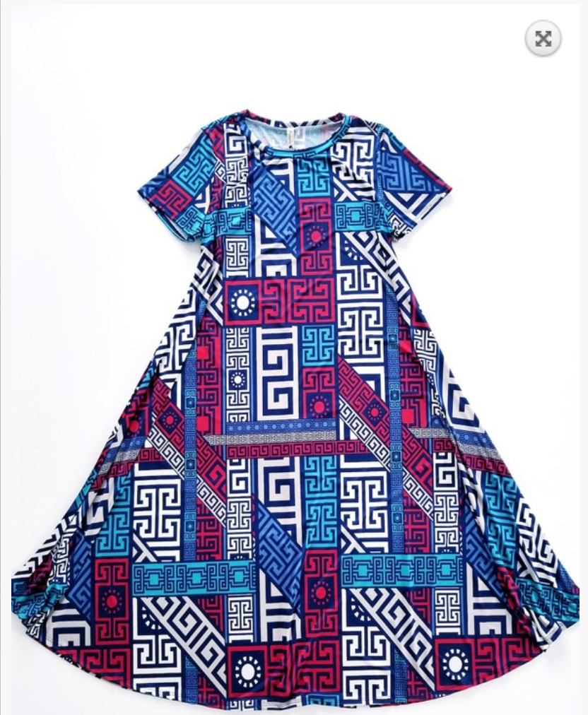 Geo All Day Dress