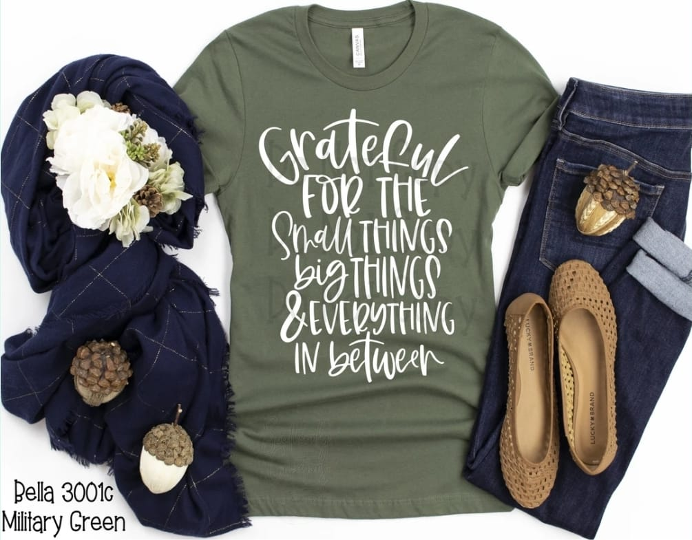 Grateful Everything in Between Tee