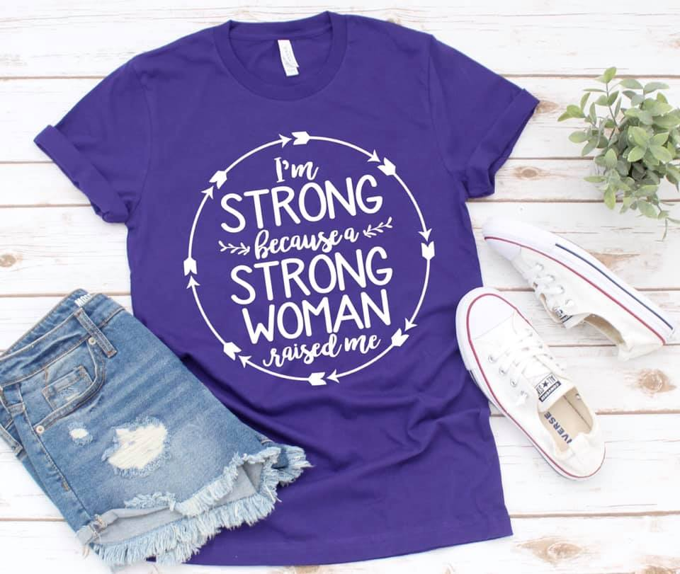 I Am A Strong Woman Tee