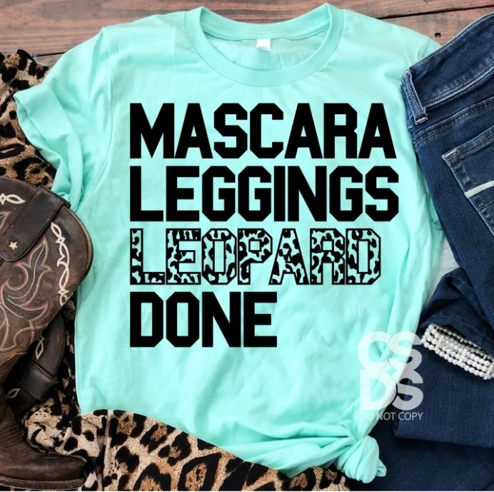 Mascara Leggings Leopard Done