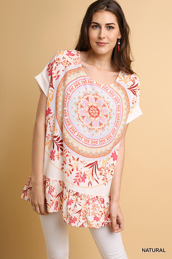 Medallion Floral Tunic