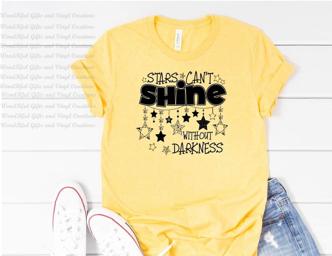 Stars Can't Shine without the Darkness Tee
