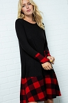 Buffalo Plaid Dress