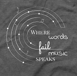 Where words Fail Tee