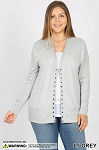 Long Sleeve Snap Cardigan