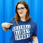 Baseball Err Day Tee