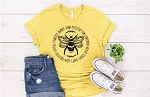 Bee Something Circle Tee