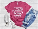 Coffee Scrubs and Rubber Gloves Tee