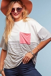 Color Block and Stripes Tee