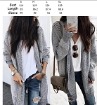 Oversized Textured Cardigan