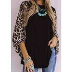 Mitzi Leopard Shift Top