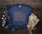 Apples and Crisp Air Tee