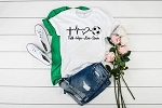 Faith Hope Love and Soccer Tee