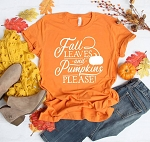 Fall Leaves and Pumpkin Please
