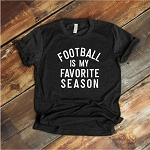 Football Is My Favorite Season Tee