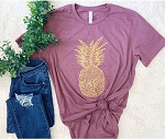 Golden Pineapple Tee