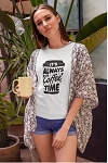 It's Always Coffee Time Tee