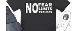 No Fear No Excuses Tee