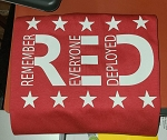 R.E.D Remeber Everyone Deployed Tee