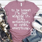 To Be Honest Tee
