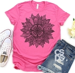 Mandala Sunflower Tee
