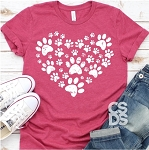 All Paws Heart Tee
