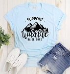 Support Wildlife Raise Boys Tee
