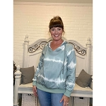 Rhianna Tie Dye Hoodie with Pocket