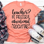 Educational Rockstar Tee