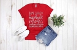 That Crazy Baseball Mom Tee