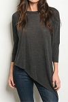 Unbalanced Knit Top