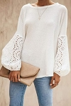 Ella Puffy Sleeve Top
