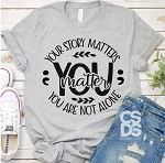 Your Story Matters Tee