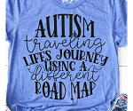 Autism Road Map Tee
