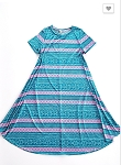 Geo Stripes All Day Dress