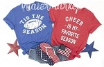 Tis The Season Football Tee