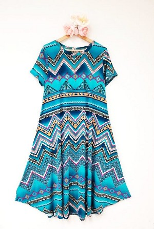Zig Zag All Day Dress