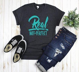 Real Not Perfect Tee